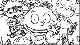 Rugrats Nickelodeon Coloring Page