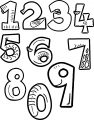 1 Of 0 All Number Coloring Page