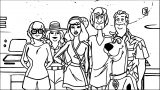 Free Scooby Doo Coloring Page WeColoringPage 006