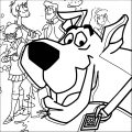 Free Scooby Doo Coloring Page WeColoringPage 023