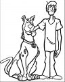 Free Scooby Doo Coloring Page WeColoringPage 034
