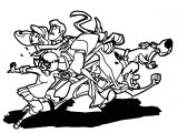 Free Scooby Doo Coloring Page WeColoringPage 042