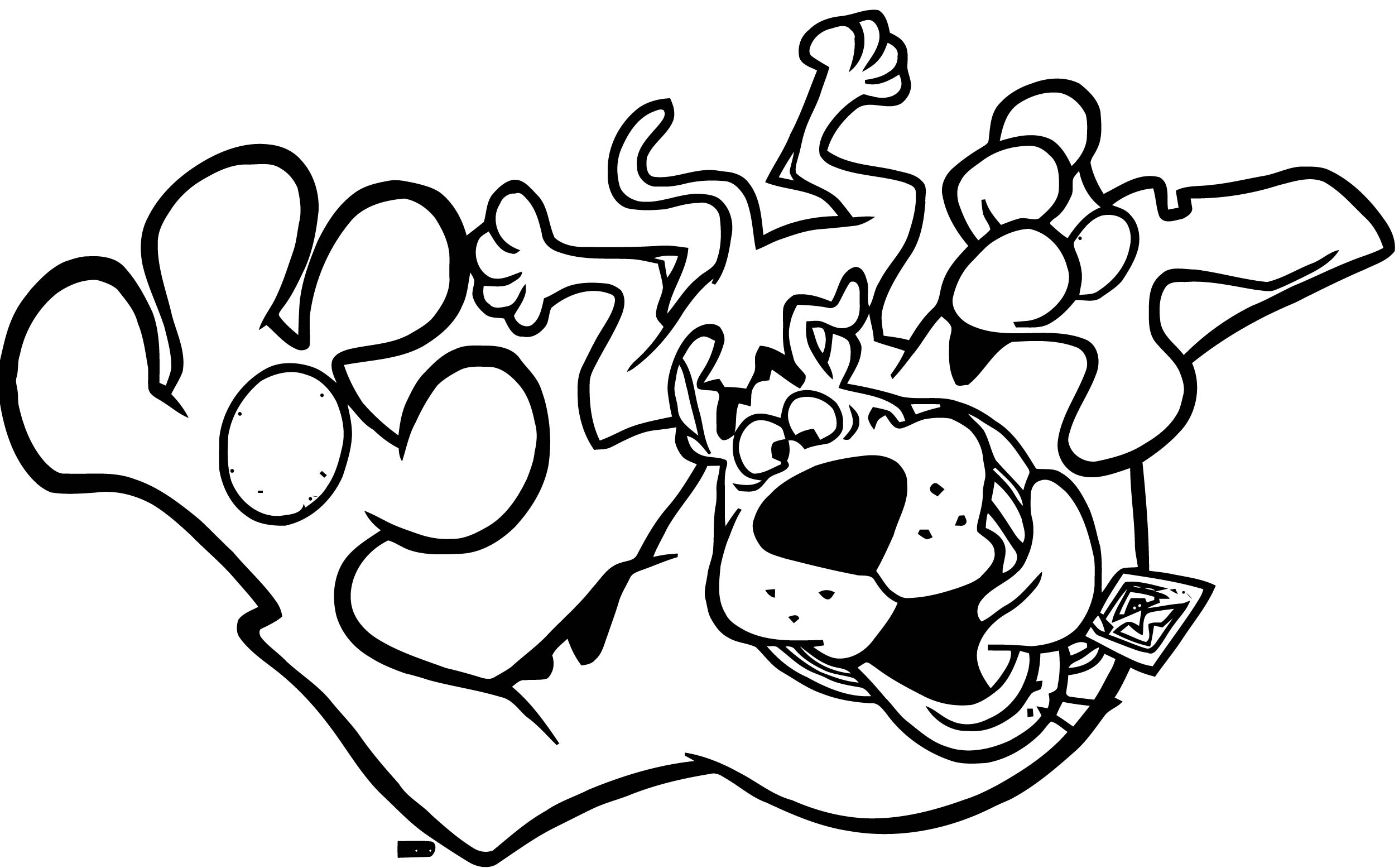 Free Scooby Doo Coloring Page WeColoringPage 050