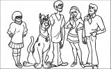 Free Scooby Doo Coloring Page WeColoringPage 069