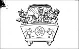 Free Scooby Doo Coloring Page WeColoringPage 091