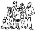 Free Scooby Doo Coloring Page WeColoringPage 099