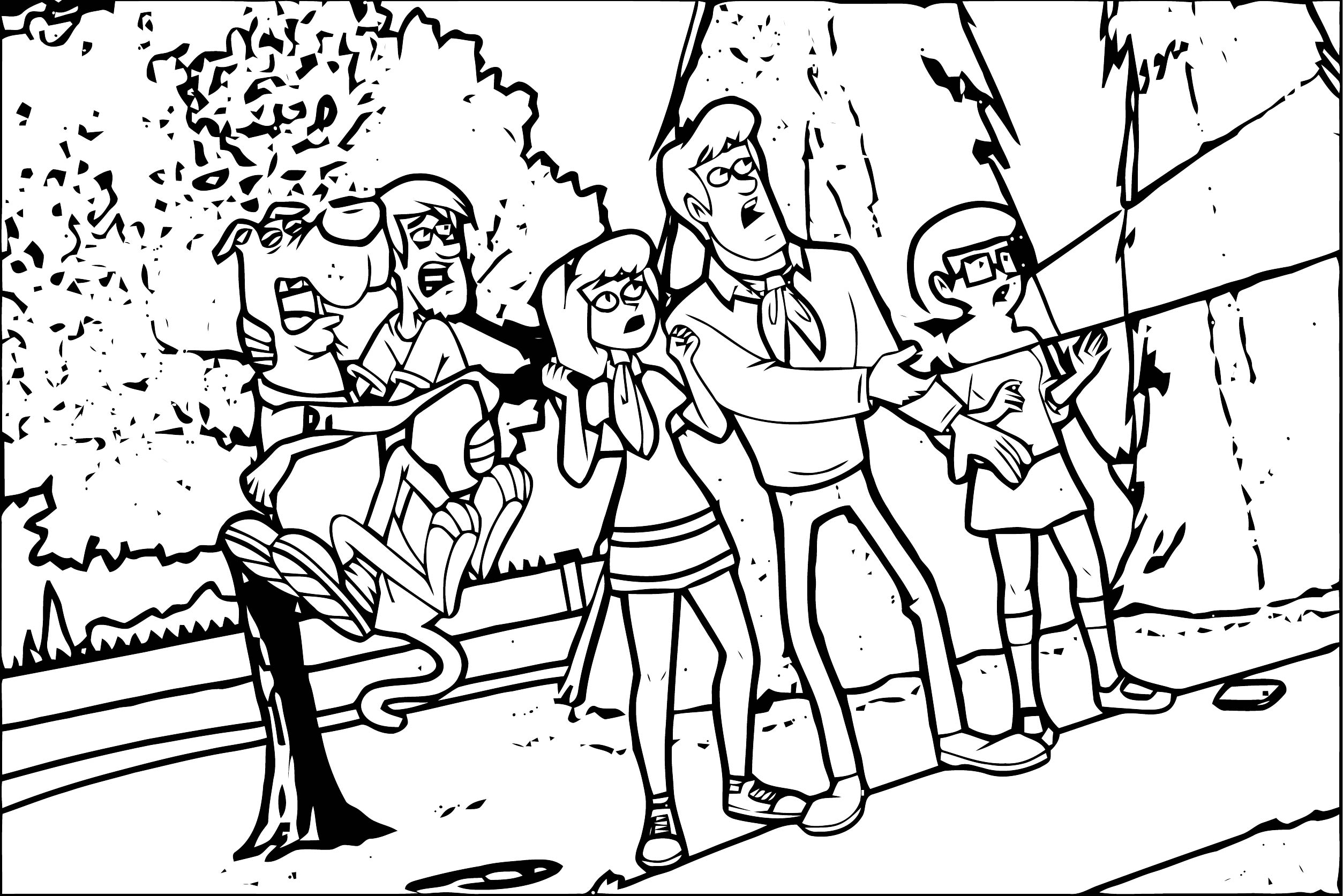 Free Scooby Doo Coloring Page WeColoringPage 111