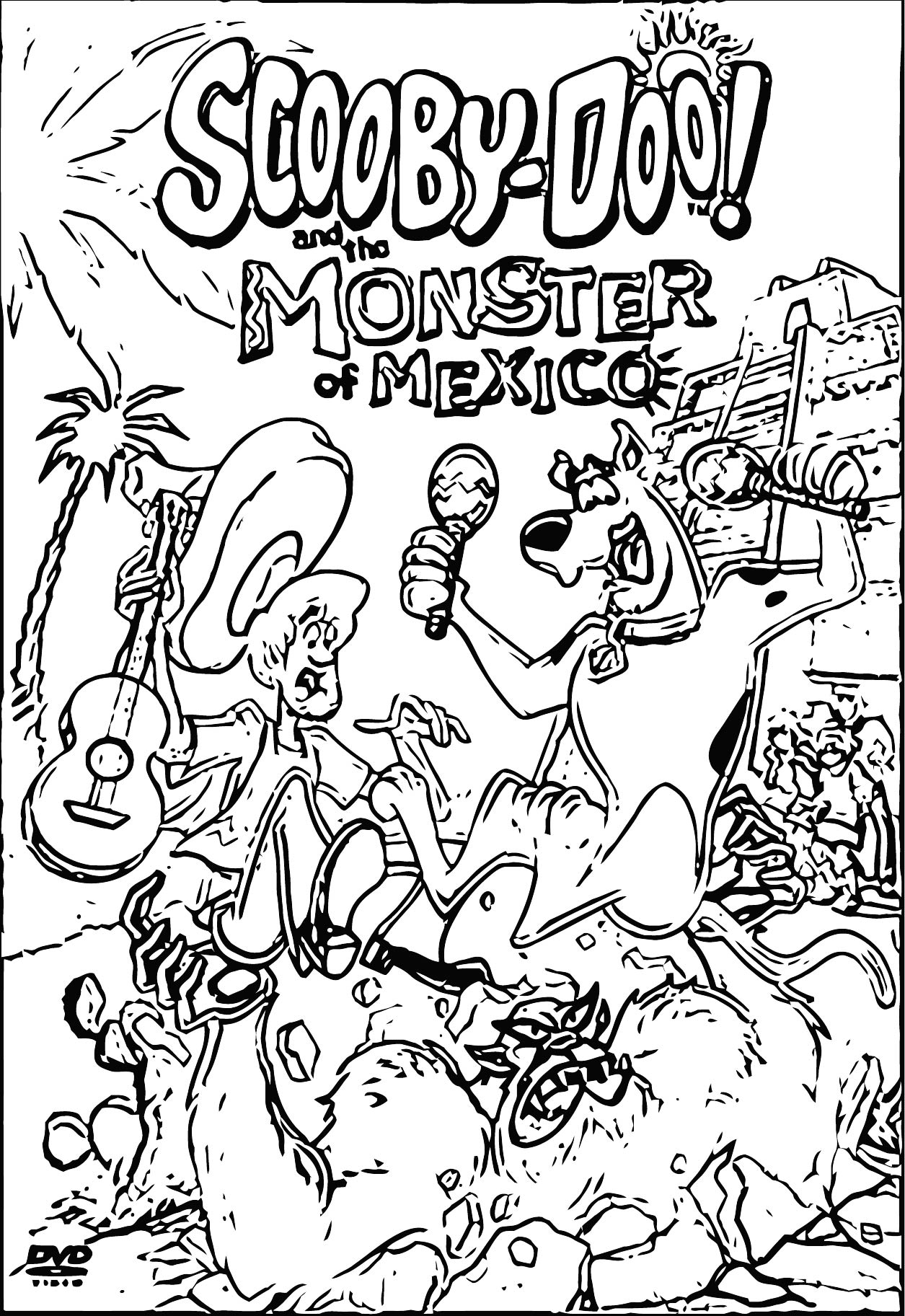 Free Scooby Doo Coloring Page WeColoringPage 117