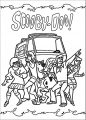 Free Scooby Doo Coloring Page WeColoringPage 149
