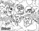 Free Scooby Doo Coloring Page WeColoringPage 153