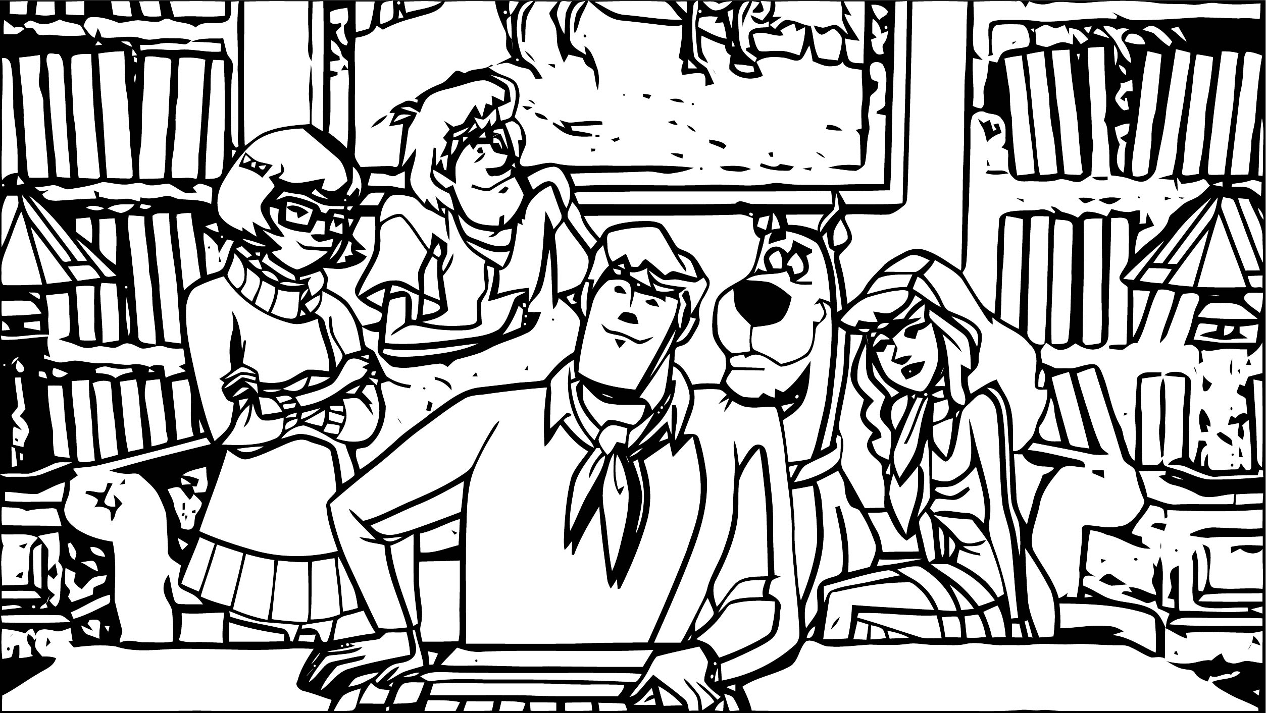 Free Scooby Doo Coloring Page WeColoringPage 185