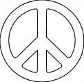 Peace Coloring Page 04