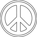 Peace Coloring Page 05