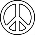 Peace Coloring Page 08