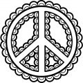 Peace Coloring Page 16