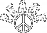 Peace Coloring Page 18