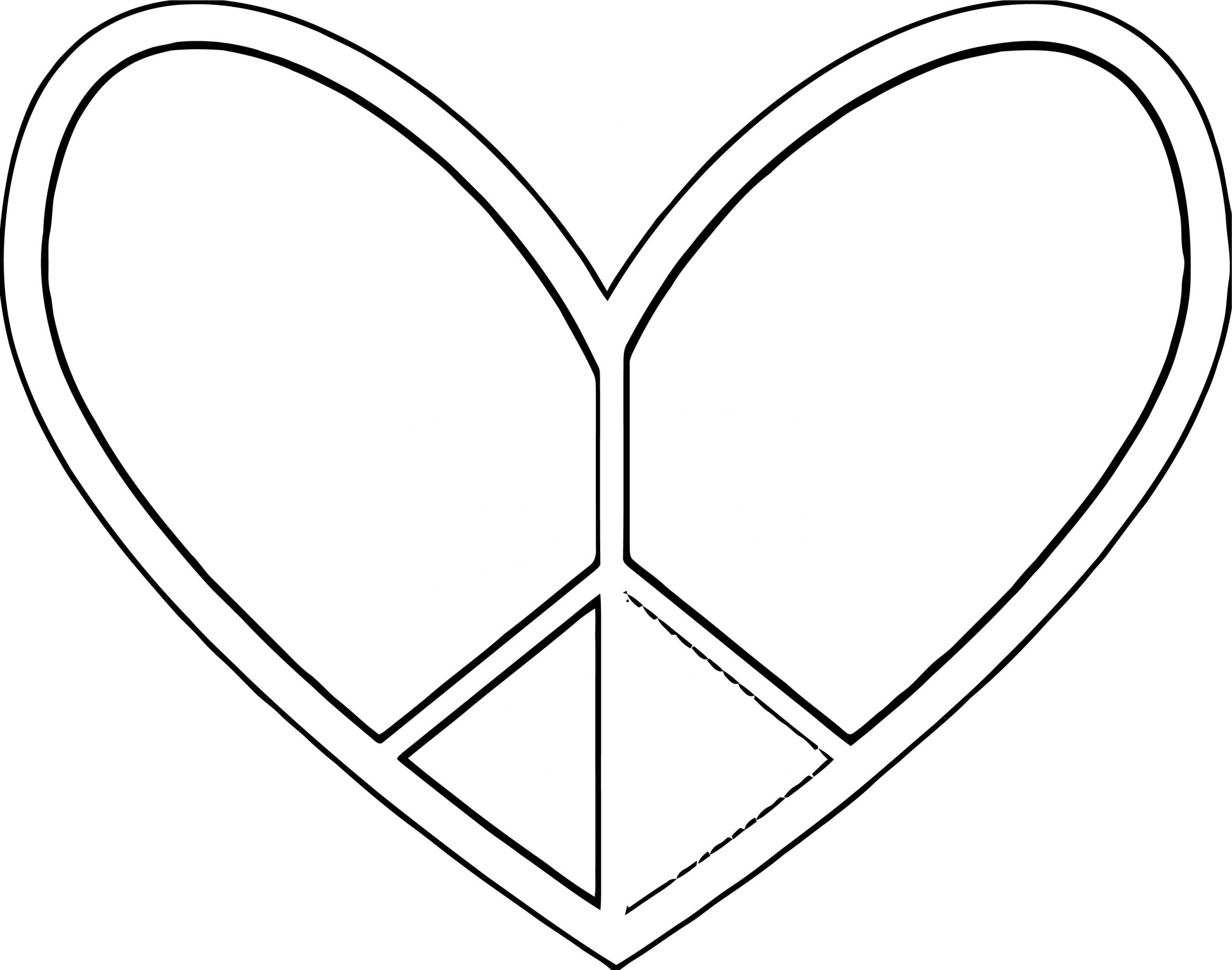 Peace Coloring Page 20