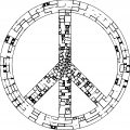 Peace Coloring Page 25