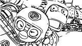 Pororo Race Coloring Page