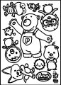 Pororo Sheet Coloring Page