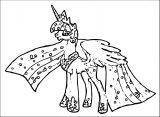 Princess Twilight Sparkle Coloring Page 039