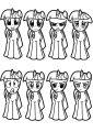 Princess Twilight Sparkle Coloring Page 082