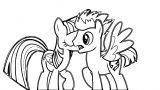 Princess Twilight Sparkle Coloring Page 100