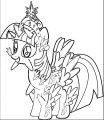Princess Twilight Sparkle Coloring Page 112