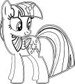 Princess Twilight Sparkle Coloring Page 113