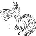 Princess Twilight Sparkle Coloring Page 153