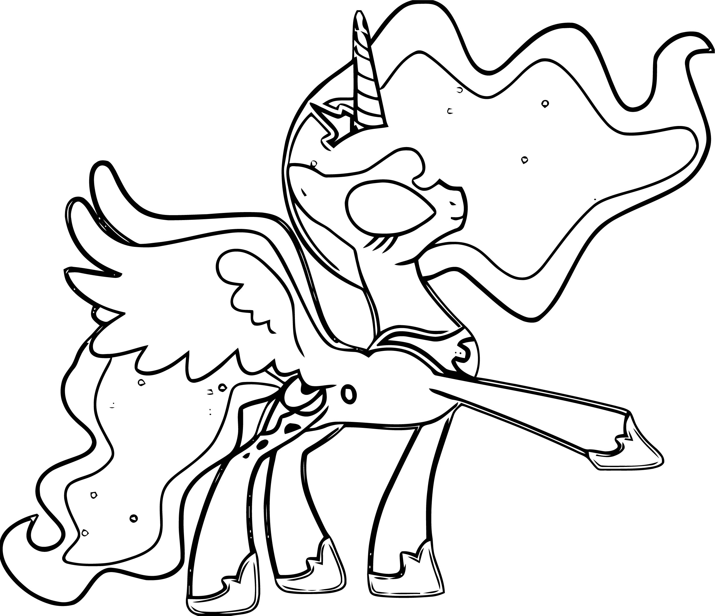 Princess Twilight Sparkle Coloring Page 182