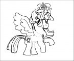 Princess Twilight Sparkle Coloring Page 204