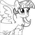 Princess Twilight Sparkle Coloring Page 210