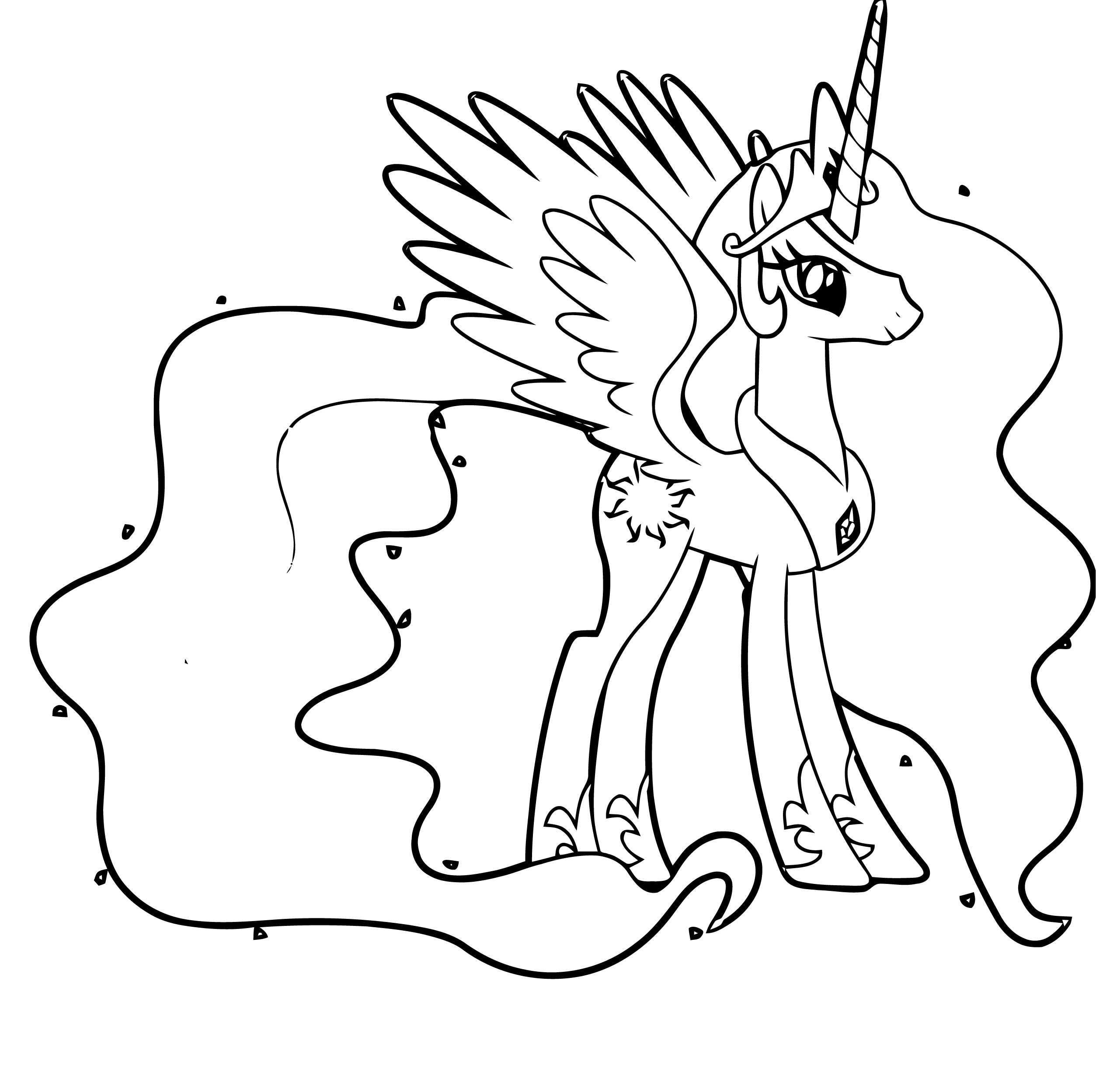 Princess Twilight Sparkle Coloring Page 240