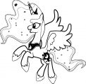 Princess Twilight Sparkle Coloring Page 244