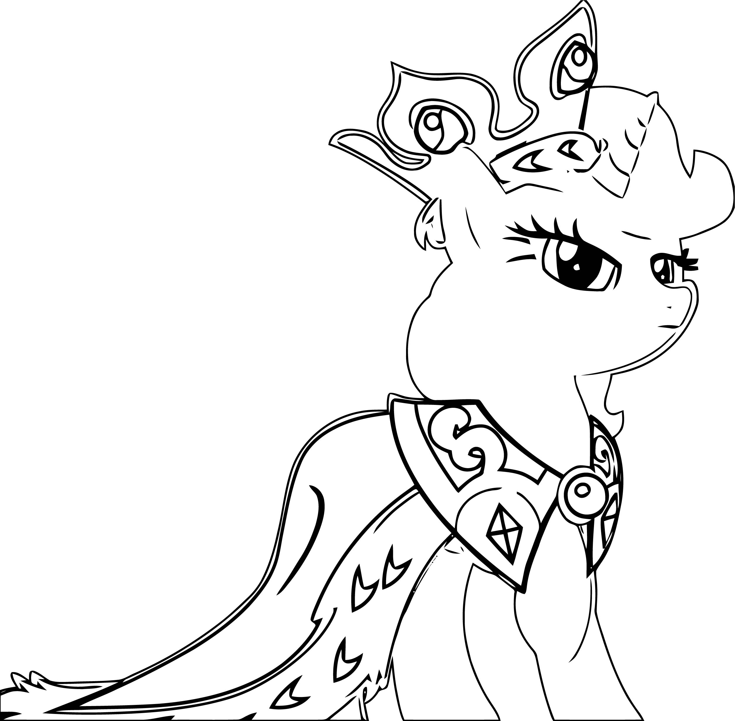 Princess Twilight Sparkle Coloring Page 250
