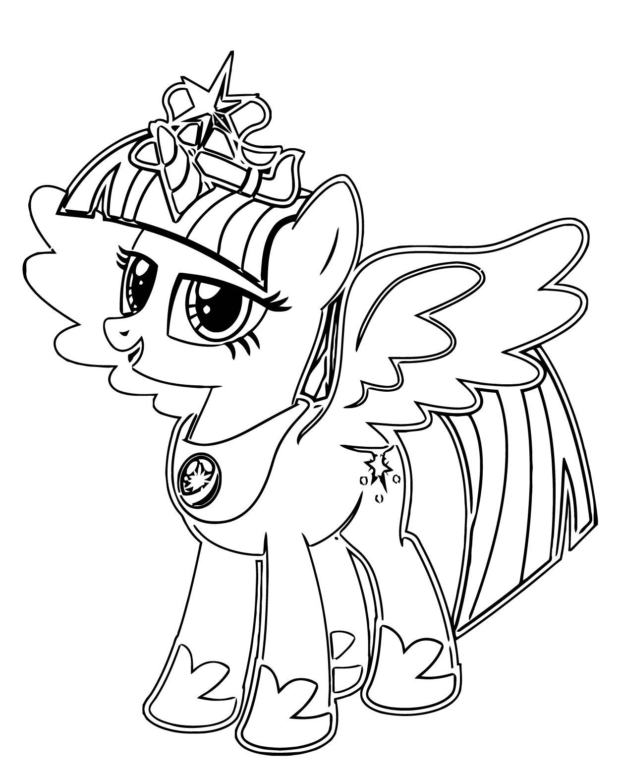 Princess Twilight Sparkle Coloring Page 267