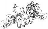 Princess Twilight Sparkle Coloring Page 289