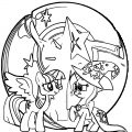 Princess Twilight Sparkle Coloring Page 295