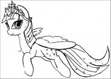 Princess Twilight Sparkle Coloring Page 312
