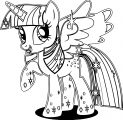 Princess Twilight Sparkle Coloring Page 356
