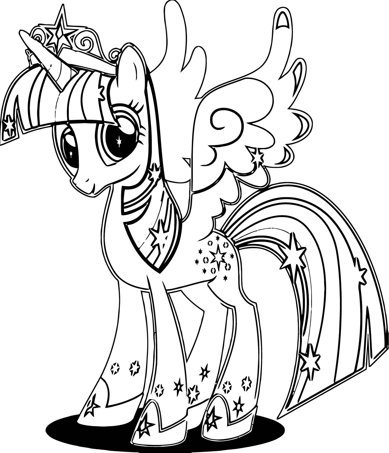 Princess Twilight Sparkle Coloring Page 362