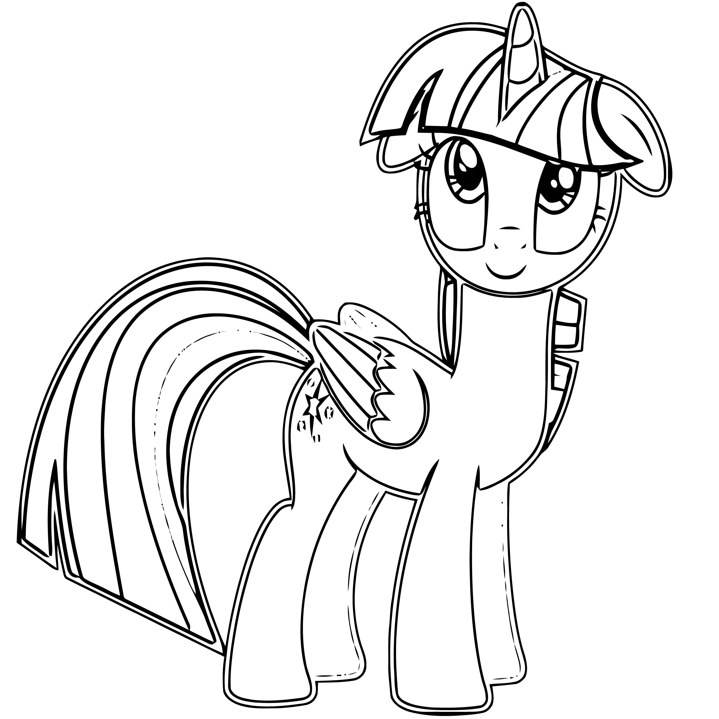 Princess Twilight Sparkle Coloring Page 405