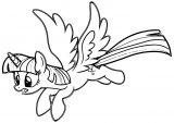 Princess Twilight Sparkle Coloring Page 409