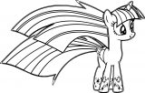 Princess Twilight Sparkle Coloring Page 434