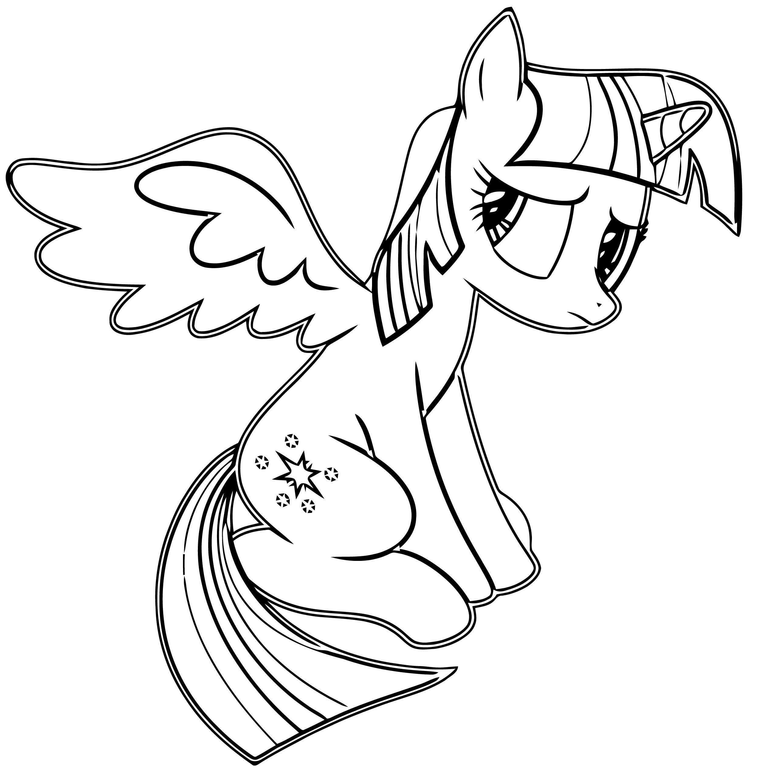 Princess Twilight Sparkle Coloring Page 460
