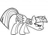 Princess Twilight Sparkle Coloring Page 464