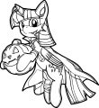 Princess Twilight Sparkle Coloring Page 503