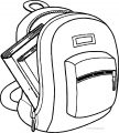 School Bag Coloring Page 56