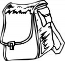 School Bag Coloring Page 57